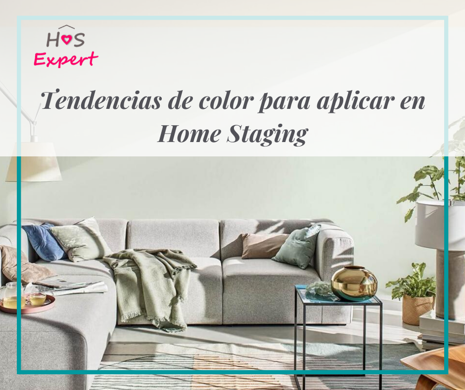 Tendencias de color para home staging
